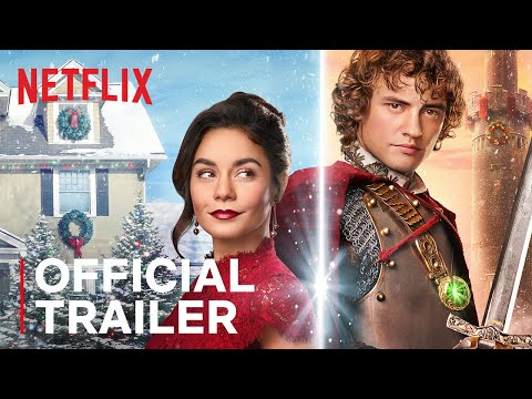 Chris Davis - Vanessa Hudgens' 'The Knight Before Christmas' (First Trailer!)