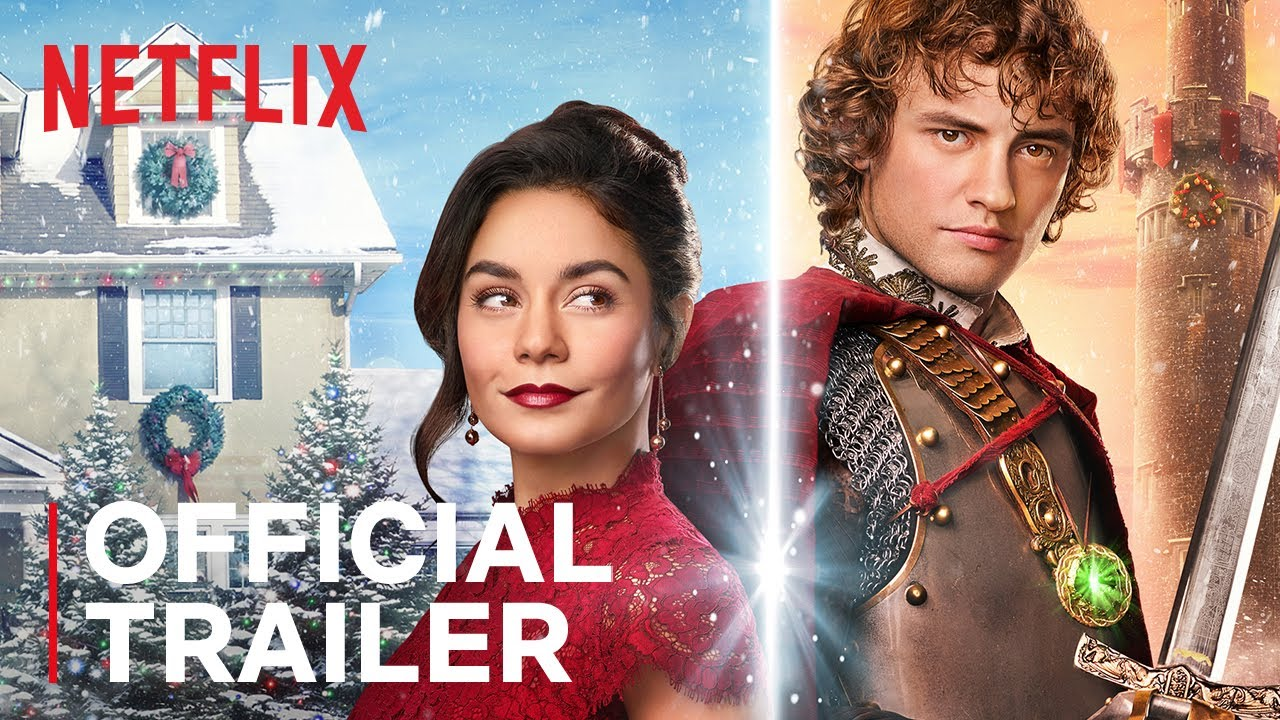 In Vanessa Hudgens, Netflix has a new Christmas queen