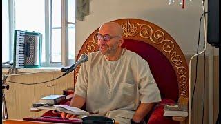 Сатья дас Хабаровск, лекция Шримат Бхагаватам стих 1.7.10 (27.09.2020)