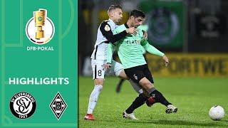 Enjoy the highlights of sv elversberg vs. borussia mönchengladbach from 2nd round dfb-pokal 2020/21.goals: 0-1 wolf (5'), 0-2 benes (21'), 0-3 sti...