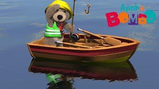 Ayıcık Bombo 🧸 Bombo Balığa Çıkıyor  minika
