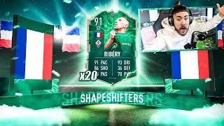 20 SHAPESHIFTER PACKS!! GUARANTEED!! FIFA 20