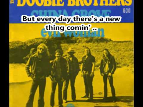 China Grove-Doobie brothers-Lyrics