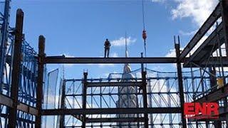 Crews Elevate Supertall One Vanderbilt Using Climbing Form System