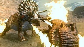BURN T.REX BURN!!!  | Beast Battle Simulator | Ep4