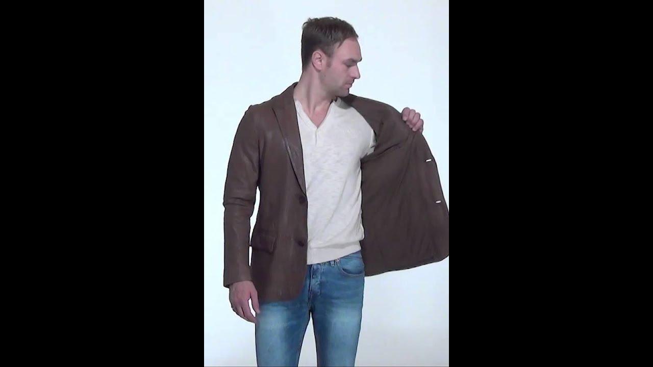 Veste blazer marron