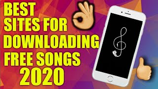FREE BEST SITES TO DOWNLOAD FREE SONGS OF 2020!