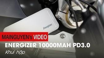 Khui hộp Energizer 10000mAh PD3.0: Siêu pin dự phòng của Energizer - www.mainguyen.vn