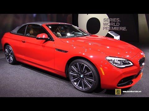 2016 BMW 650i Convertible - Exterior and Interior Walkaround - Debut at 2015 Detroit Auto Show