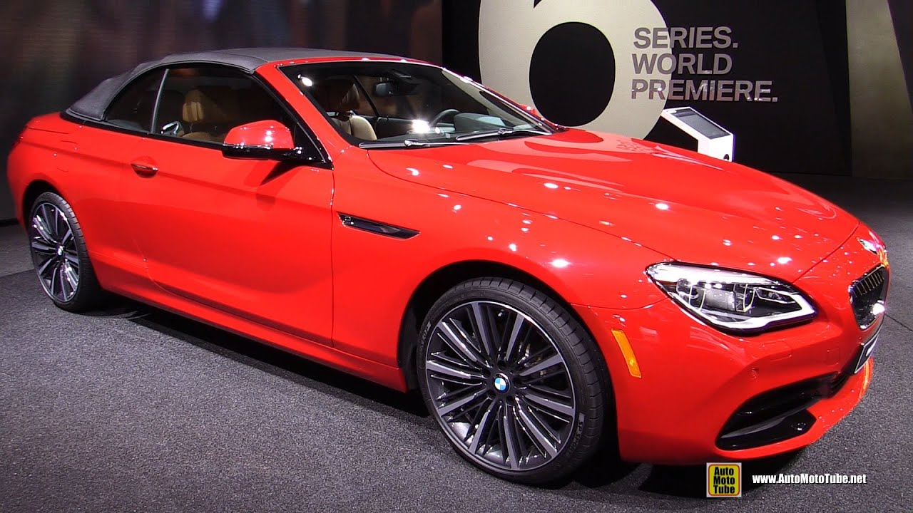 2016 Bmw 650i Convertible Exterior And Interior