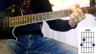 Saida Fikri: rdina blhm guitare leçonسعيدة فكري: رضينا بالهم