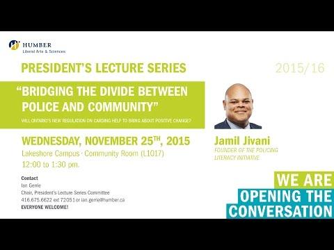 Presidents Lecture Series - Jimil Jivani