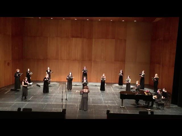 Dancing Day (2ª parte) John Rutter. VokalArs. Dir.: Nuria Fernández Herranz Piano: Teresa Vilaplana