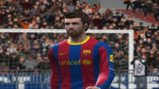 Pro Evolution Soccer 2011 PS2 Gameplay HD
