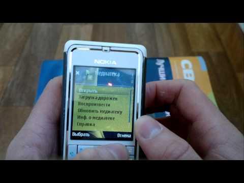 Обзор Nokia 3250 Положение музыкально плеера