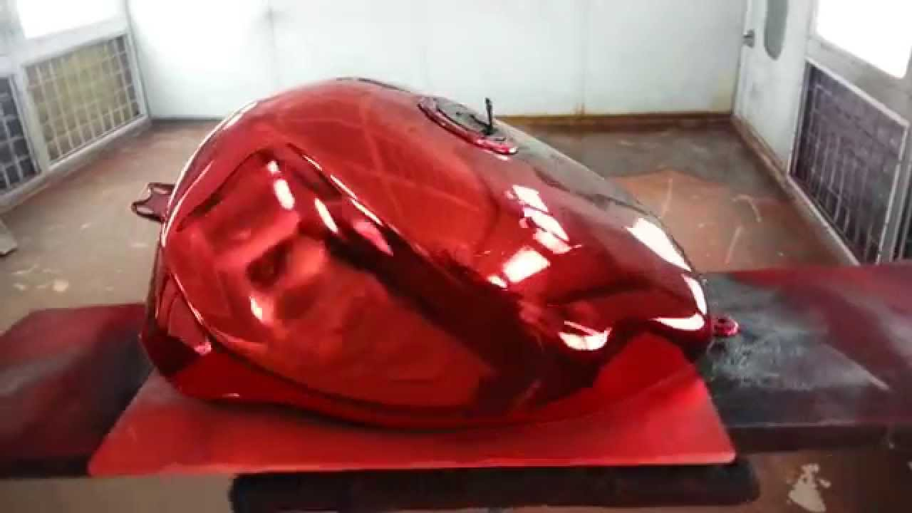 Spray Paint For Motorcycle Tank