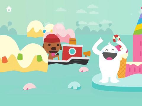 Sago Mini Music Box - app demo for kids