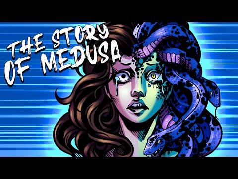 The Punishment of Medusa: The Story of The Cursed Priestess - Mythological Comics - Greek Mythology