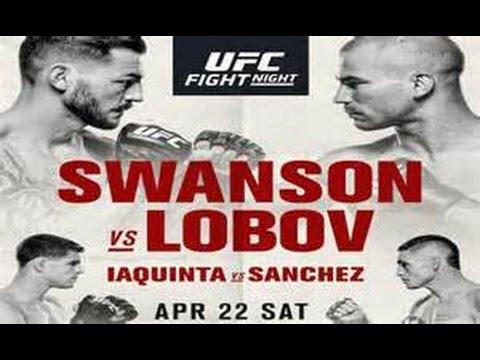 UFC Fight Night Swanson vs Lobov