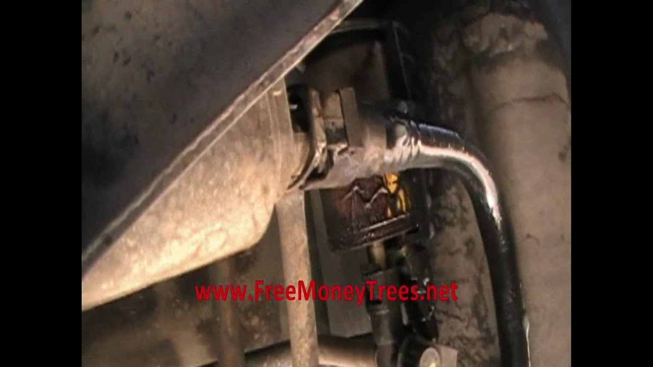 2008 Tahoe Fuel Filter Location Gas Leaking From Chevy Trail Blazer Ltd Youtube