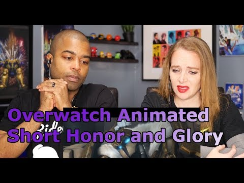 "Overwatch Animated Short | ""Honor and Glory"" (REACTION 🔥)"
