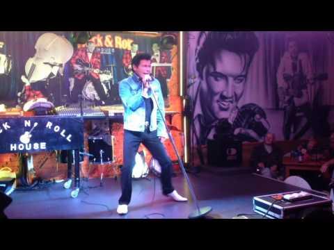 Rock & Roll House Benidorm Dean Ryan as Shaky Stevens