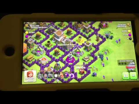 clash of clans best town hall8 and 9 attacks youtube