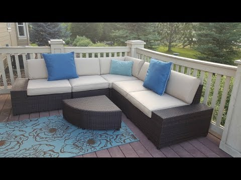 Best Choice Products Wicker Patio Set Unboxing And Review