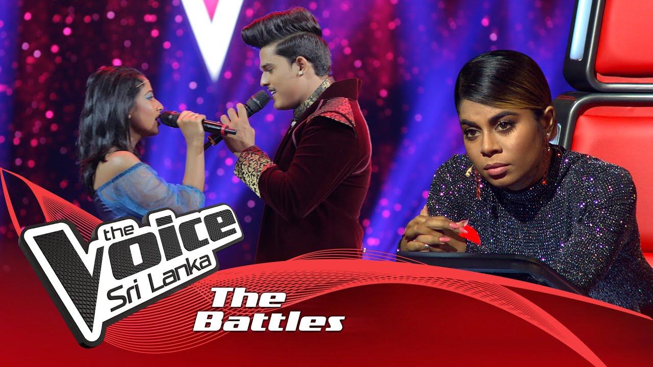 Download The Battles : Surange Weerasinghe V Senshi Fernando   Beauty And The Beast   The Voice Sri Lanka