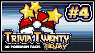 Pokeology Facts: 20 Pokemon Facts To Blow Your Mind #4 [Trivia Twenty Tuesday]