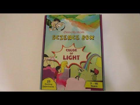 SCIENCE KIT-ONNOROKOM SCIENCE BOX (COLOUR OF LIGHT)