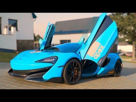 КРУЧЕ, чем ЛАМБА - McLaren 600 сил!