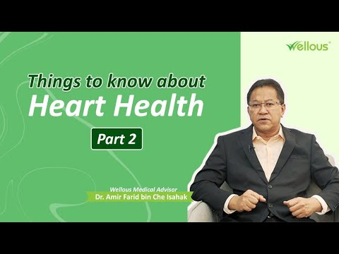 [Wellous] Dr. Amir - Things to know about Heart Health (Part 2)