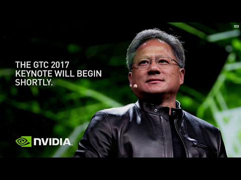 GTC 2017: Nvidia gpu technology conference Tesla V100 Volta