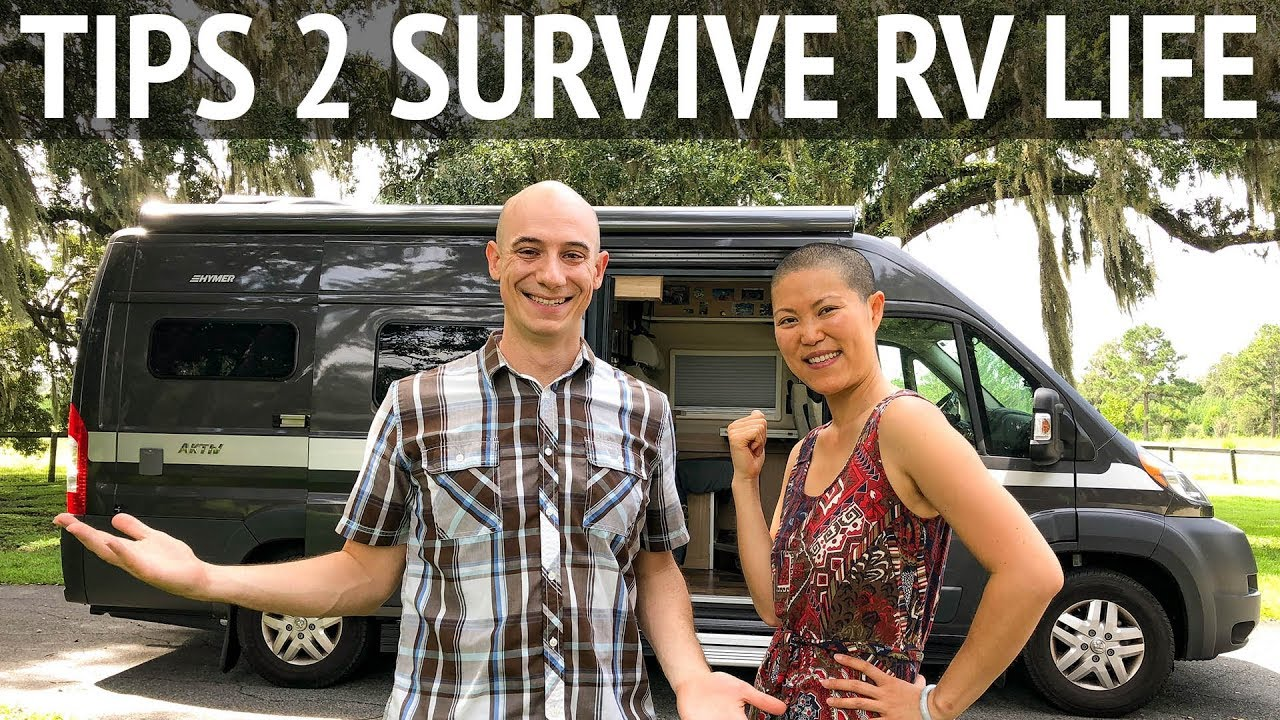 12 Tips to Survive RV Living Whether You're in a Van or a