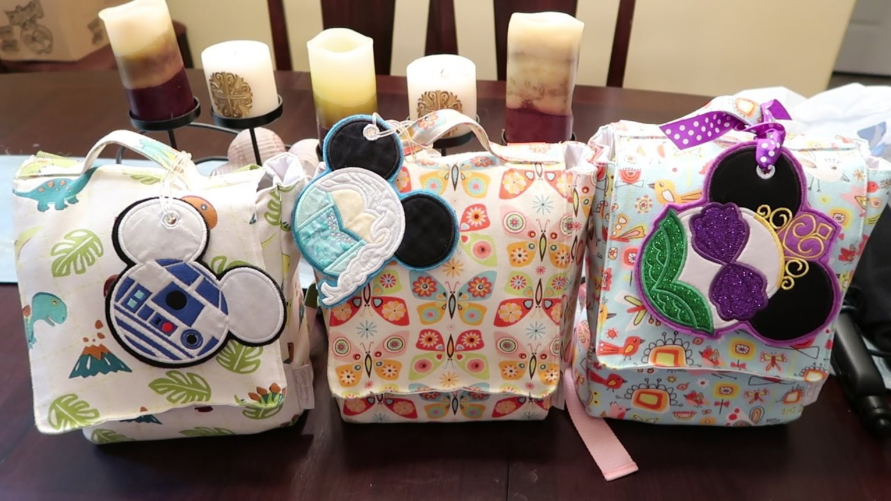Disney Travel Activity Bags Busy For Plane Hotel Car And Beyond