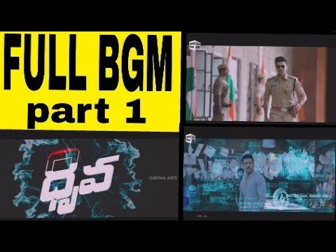 Dhruva Background music BGM |Hip hop Tamizha|Ram charan,Rakul|surrender reddy