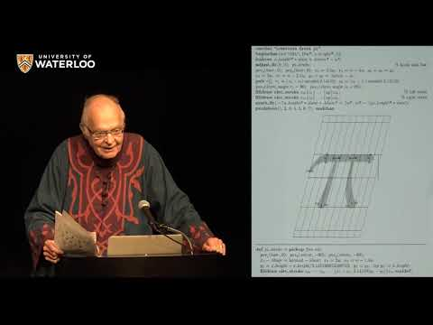 Computer Science, the Bible, and Music - 2018 Lectures (with Donald Knuth)