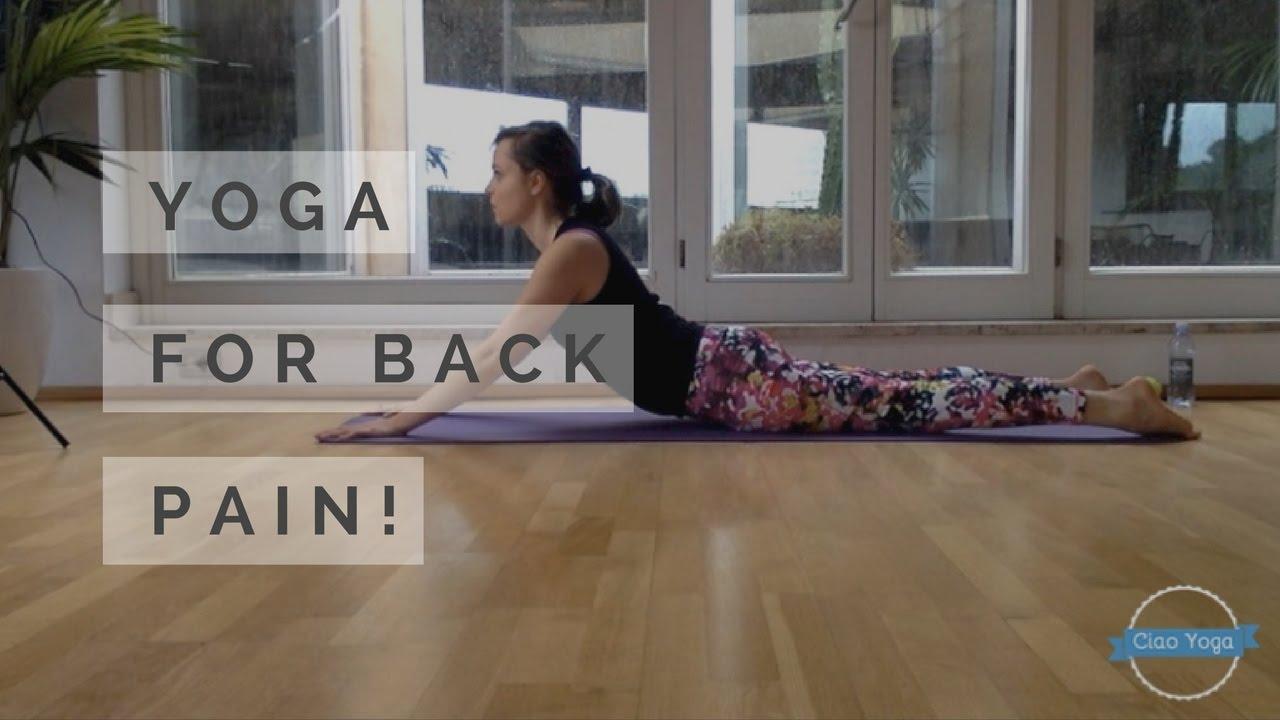 Yoga per il mal di schiena! - YouTube