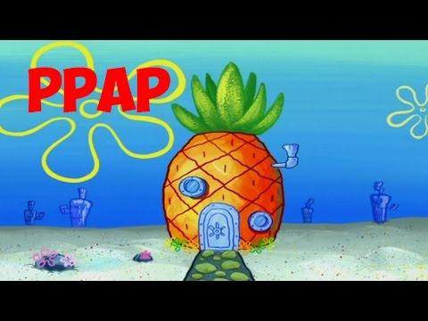 PPAP - Pen Pineapple Apple Pen Spongebob Cover!!!