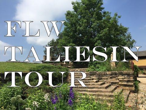 Frank Lloyd Wright's Taliesin - A Tour