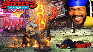 I'M SCREAMING.. THIS GAME IS A MASTERPIECE. | Streets of Rage 4 Gameplay
