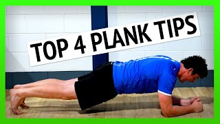 How to Plank for Longer:  Four Core Strength Exercise Tips [Ep63]