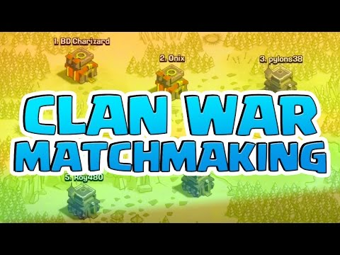 ULTIMATE Guide to CLAN WAR Matchmaking Clash of Clans