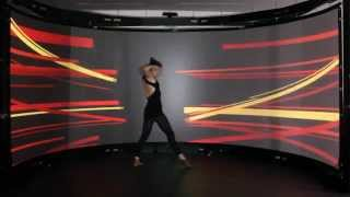 INNER BALANCE - Phenomenology of the Soul ( KINECT PROJECTION DANCE)