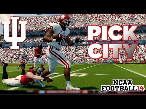 NCAA Football 14 Dynasty | Indiana Hoosiers - FORCING TURNOVERS FINALLY!! - Ep 11