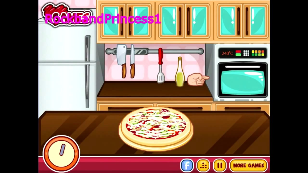 Pizza Videos For Kids Barbie Cooking Pizza Games Youtube