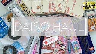 - ̗̀  Daiso Haul! ☀ Back to school + Silicone Mask Cover  ̖́-