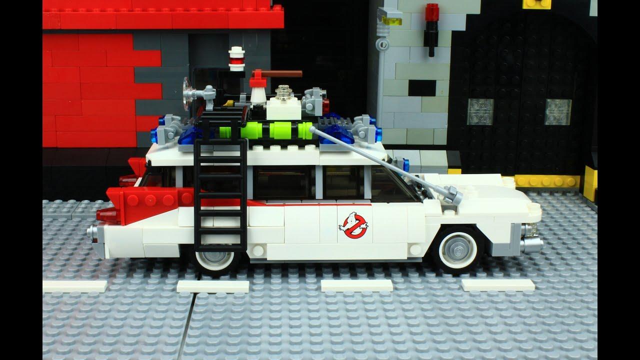 lego ghostbusters car brick by brick build yellow men. Black Bedroom Furniture Sets. Home Design Ideas