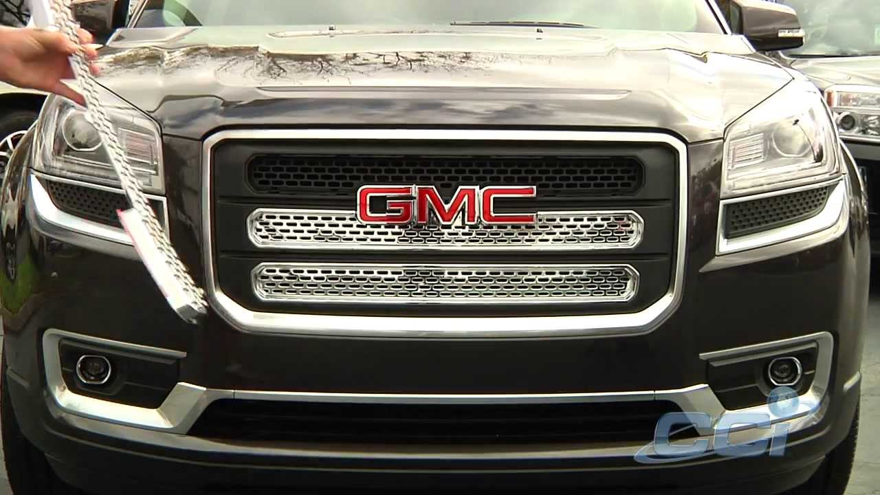 CCI Accessories Upgrades 2013-2014 Acadia - YouTube